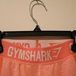 NWOT Peach Gymshark Full Length Fit leggings